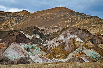 Photograph - Death Valley Artist's Palette by Kyle Hanson