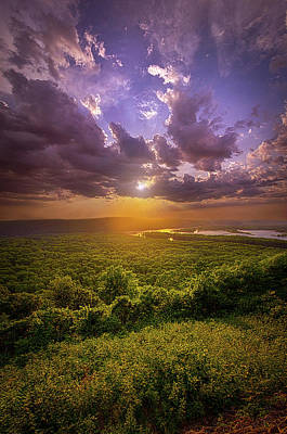 Photograph - As Far As The Eye Can See by Phil Koch
