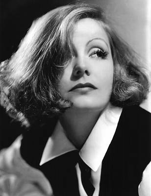 Clarence Sinclair Bull Photograph - As You Desire Me, Greta Garbo, Portrait by Everett