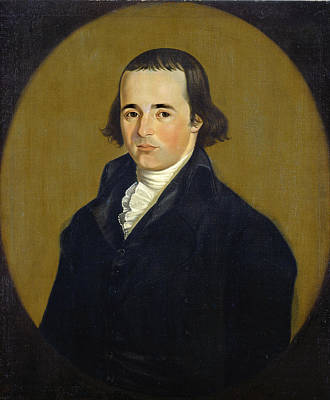 William Jennys Painting - Asa Benjamin by William Jennys