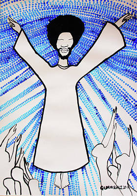 Painting - Ascension Of Jesus Christ by Gloria Ssali