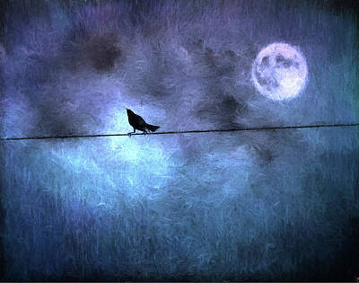 Ask Me For The Moon Art Print