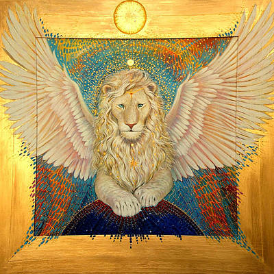 The Universe Painting - Aslan  by Silvia  Duran