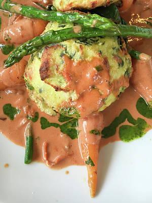 Asparagus Wall Art - Photograph - Asparagus Dish by Tom Gowanlock