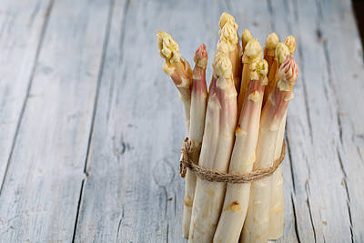 Sprout Photograph - Asparagus by Nailia Schwarz