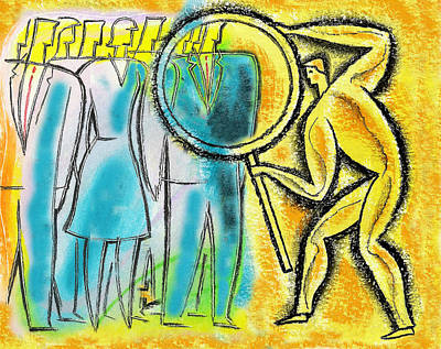 Mirror Painting -  Assessment by Leon Zernitsky