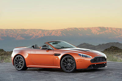 Photograph - Aston Martin V12 Vantage S Roadster by Drew Phillips