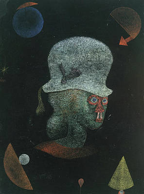 Expressionist Painting - Astrological Fantasy Portrait by Paul Klee
