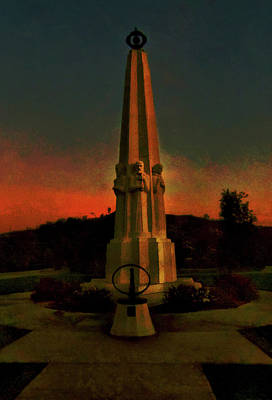 Mixed Media - Astronomers Monument by Joseph Hollingsworth