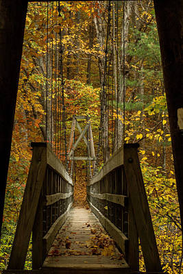 Photograph - At Bridge by Kevin Blackburn