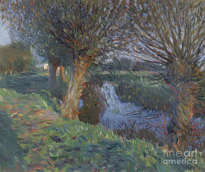 John Singer Sargent Painting - At Calcot by John Singer Sargent
