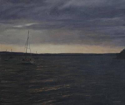 Painting - At Dawn by Masami Iida