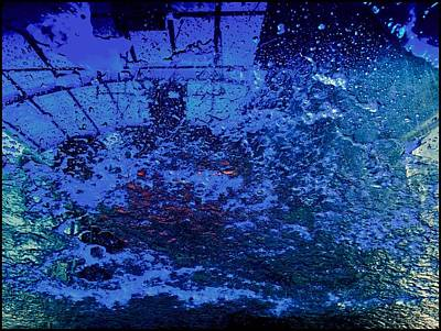 Photograph - At The Carwash 12 by Marlene Burns