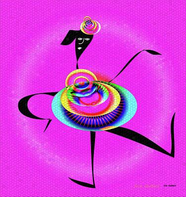 Digital Art - At The Copa by Iris Gelbart