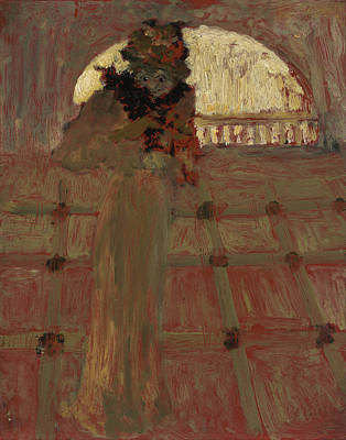 Cultural Painting - At The Opera by Edouard Vuillard