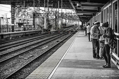 Photograph - At The Station by Fran Gallogly
