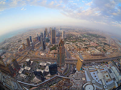 Photograph - At The Top Of Burj Khalifa by Jouko Lehto