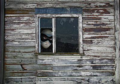 Mixed Media - At The Window by Nareeta Martin