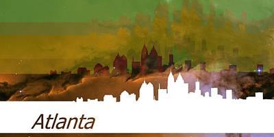 Abstract Digital Art - Atlanta 2 by Alberto RuiZ