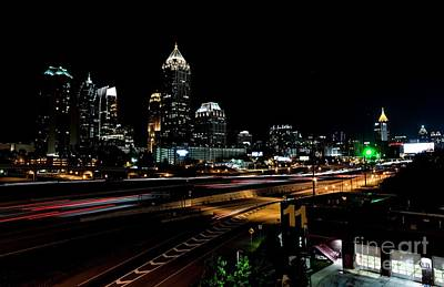 Photograph - Atlanta Expressway by David Bearden