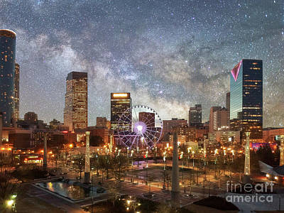 Photograph - Atlanta Milky Way by Robert Loe