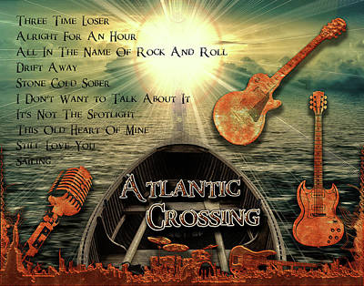 Digital Art - Atlantic Crossing by Michael Damiani
