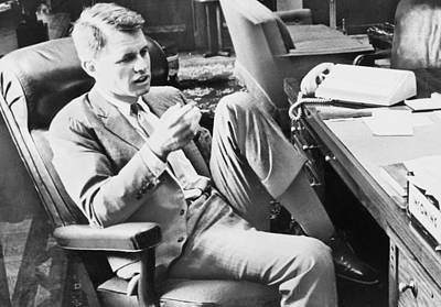 Rfk Photograph - Attorney General Robert F. Kennedy by Everett