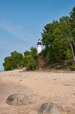 Photograph - Au Sable Lighthouse by David Arment