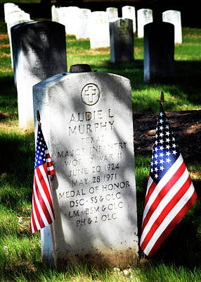 Photograph - Audie Murphy - Most Decorated  by Paul W Faust - Impressions of Light