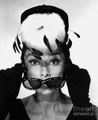 Actor Photograph - Audrey Hepburn In Breakfast At Tiffany's by The Titanic Project
