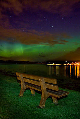 Photograph - Aurora At Clachnaharry by Joe Macrae