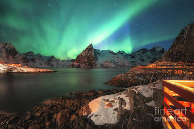 Photograph - Aurora Borealis by Pawel Klarecki