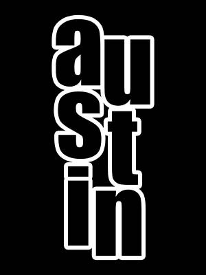 Digital Art - Austin by Bill Owen
