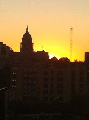 Photograph - Austin Capital At Sunrise by Cherylene Henderson