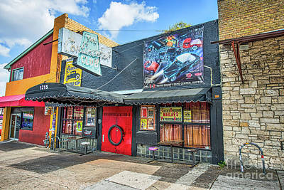 South Photograph - Austin Continental Club by Tod and Cynthia Grubbs