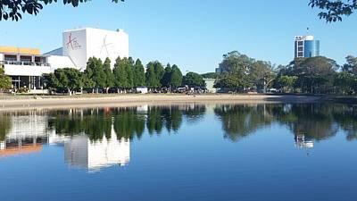 Photograph - Australia - Gold Coast Art Centre Reflections by Jeffrey Shaw