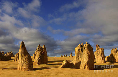 Photograph - Australia Nambung Desert 1 by Bob Christopher