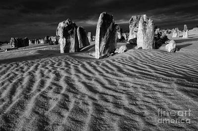 Photograph - Australia Nambung Desert 3 by Bob Christopher