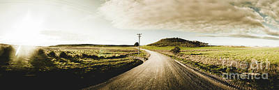 Rural Photograph - Australian Rural Road by Jorgo Photography - Wall Art Gallery