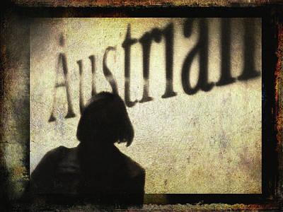 Digital Art - Austrian Silhouette by Siegfried Ferlin