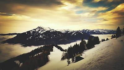 Photograph - Austrian Winter Vista by Pixabay