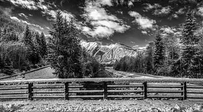 Photograph - Austrian Winter Wonderland by Peter Heeling