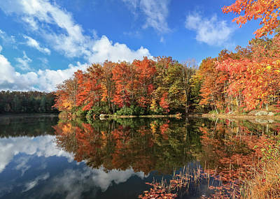 Photograph - Autumn At Boley Lake by Jaki Miller