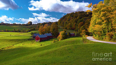 Photograph - Autumn At The Jenne Farm by Scenic Vermont Photography