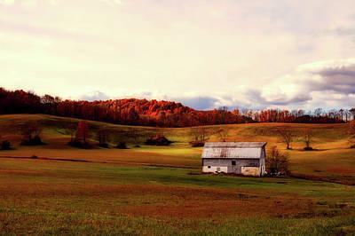 Photograph - Autumn Barn by L O C