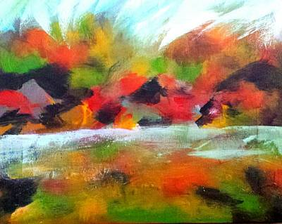 Painting - Autumn Blaze by Nikki Dalton