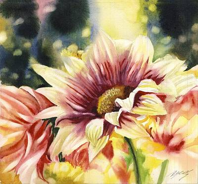 Painting - Autumn Chrysanthemum by Alfred Ng