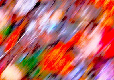 Photograph - Autumn Color Blurs 209 by George Ramos