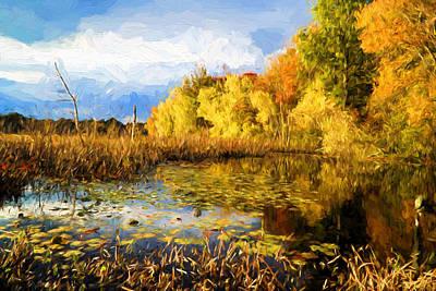 Autumn Colors Art Print by Lilia D