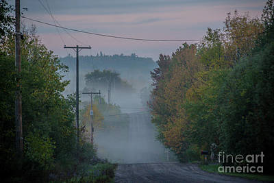 Photograph - Autumn Country Road by Cheryl Baxter